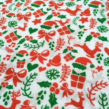 SALE FABRIC FELT SHEET - Limited Edition - Christmas Holiday