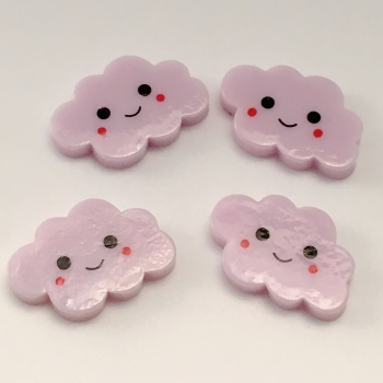 Resin - Happy Cloud - Lilac