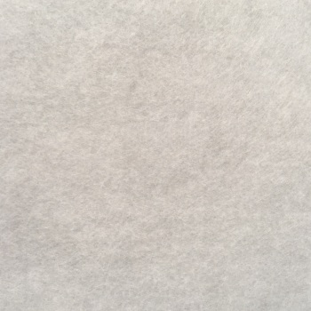 Merino Heathered Felt - Antique White