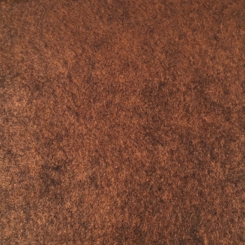 Merino Heathered Felt - Bewitching Brown