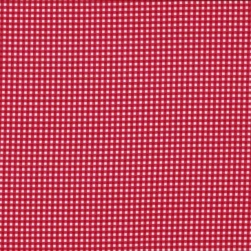 Fabric - Gingham - Red