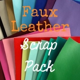 Faux Leather Scrap Pack