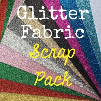 Glitter Fabric Scrap Pack