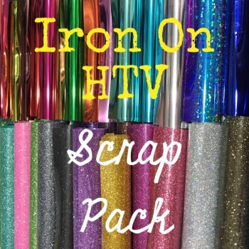 Iron On HTV Scrap Pack