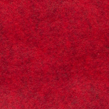 Marl Wool Blend Felt - Heathered Red