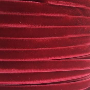 6mm Velvet Ribbon - Dark Red