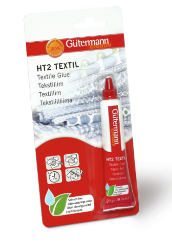 Gutermann HT2 Glue - For Glitter Fabric and more