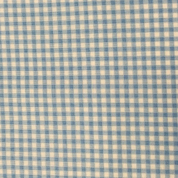 Fabric - Gingham - Light Blue