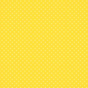 FABRIC FELT - Polka Dots - Yellow