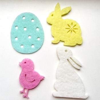 Easter Felt Motifs