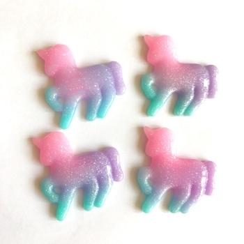 Resin - Unicorn - Purple
