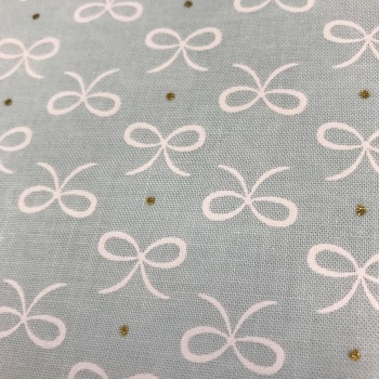 Fabric - Bows - Bitty Bows - Mint