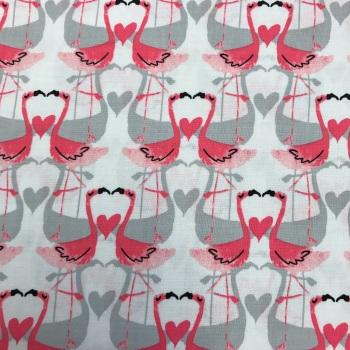 Fabric - Michael Miller - Flamingo Love