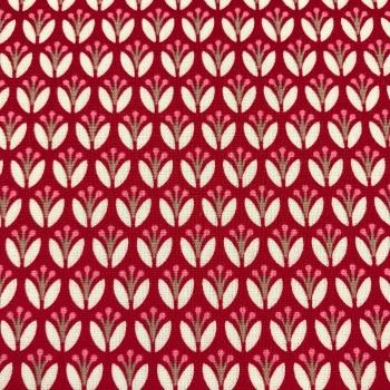 FABRIC FELT - Gutermann - Mini Red Tulips
