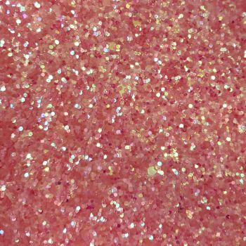 Exclusive Glitter Fabric Sheet - Pearlescent Pink