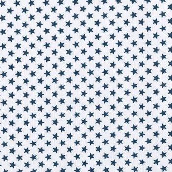 Fabric - Sevenberry - Stars - White/Navy