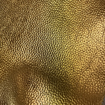 Exclusive Textured Faux Leather A4 Sheet - Metallic Gold