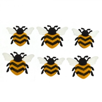 Dress It Up Button Pack - Bee Happy