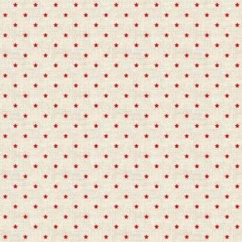 Fabric - Makower - Mini Star - Red
