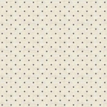 Fabric - Makower - Mini Star - Grey