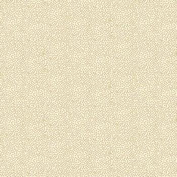 Fabric - Makower - Metallic Dotty - Cream