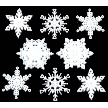 Dress It Up Button Pack - Fallen Snow