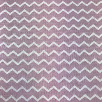 Fabric - Chevron - Gutermann - Chevron - Lilac/White