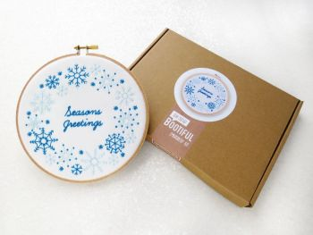 Embroidery Kit - Seasons Greetings