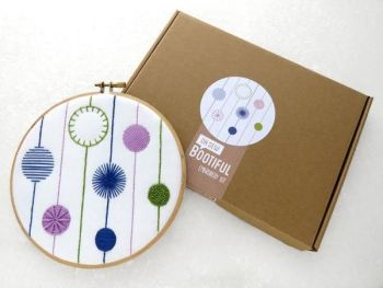 Embroidery Kit - Modern Circles