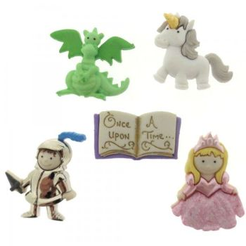 Dress It Up Button Pack - Once Upon A Time