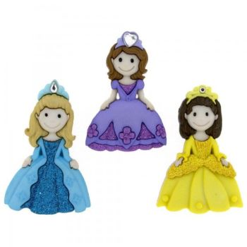 Dress It Up Button Pack - Pretty Princesses