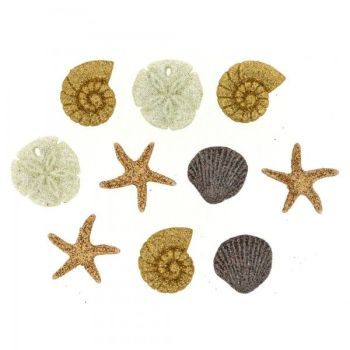 Dress It Up Button Pack - Seashells At The Seashore