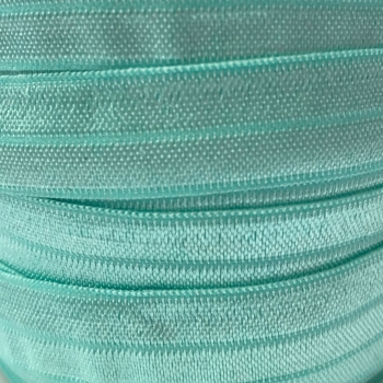 Fold Over Elastic - Pearlescent - Mint