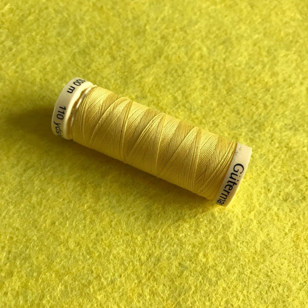 Sewing Thread - Lemon