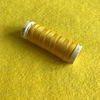 Gutermann Sewing Thread - Yellow