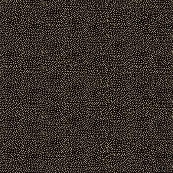 FABRIC FELT - Makower - Metallic Dotty - Black