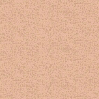 FABRIC FELT - Makower - Metallic Dotty - Peach