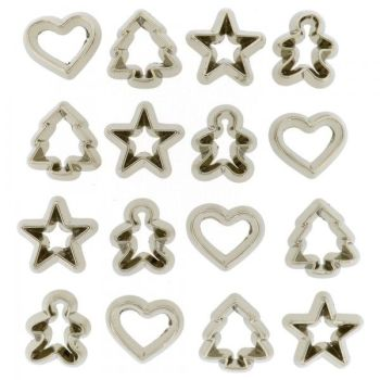 Dress It Up Button Pack - Mini Cookie Cutters