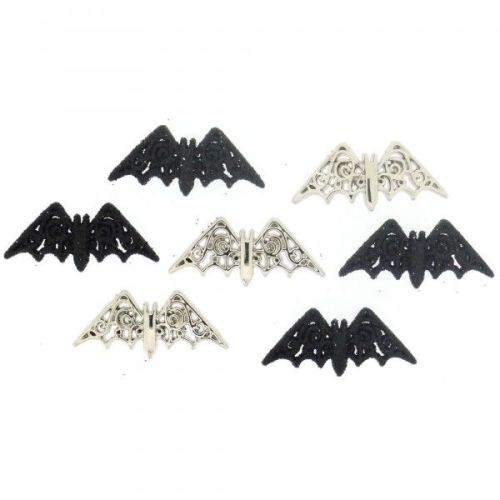 Dress It Up - Bewitching Bats Buttons Pack