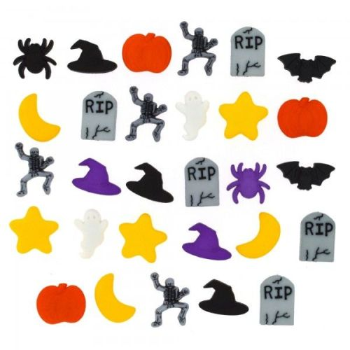 Dress It Up - Fright Night Buttons Pack