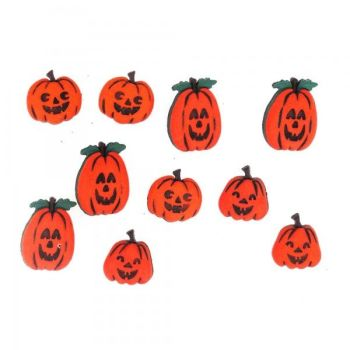 Dress It Up Button Pack - Jacks O Lanterns Buttons Pack