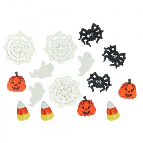 Dress It Up Button Pack - Things That Go BOO