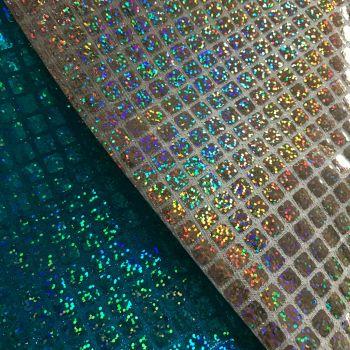 Fabric Felt - Mermaid Sequin Squares