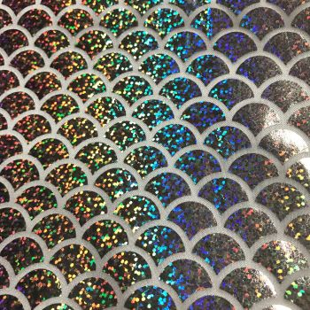 Fabric Felt - Metallic Mermaid Scales