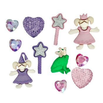 Dress It Up Button Pack - Little Princess