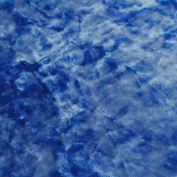 FABRIC FELT A4 Sheet - Velvet - Denim