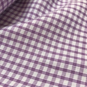 FABRIC FELT - Summer Gingham - Lilac