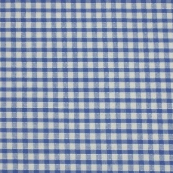 Gingham Fabric Felt - Sky Blue