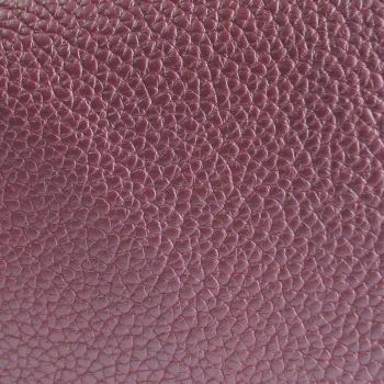 Textured Faux Leather Sheet - Pearlescent Pink