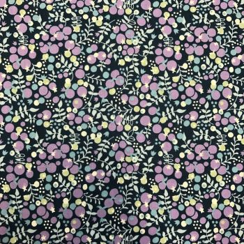 Fabric - Cotton Lawn - Blueberries